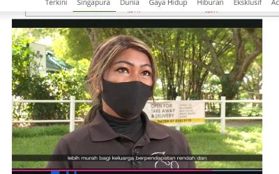 Healing Horses Singapore Featured in Berita, a MediaCorp Channel in Singapore.