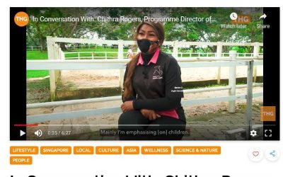 Healing Horses Singapore Featured in TheHomeGround.asia